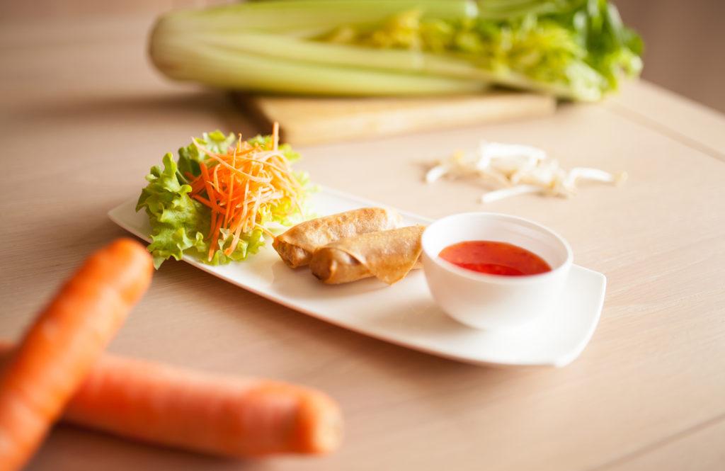 Des plats végétariens sont également disponibles dans les menus de Sao Thai Cuisine